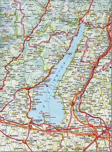 westseite gardasee karte Bella Italia – Lago di Garda | Wolfgang's space