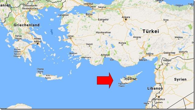 karte zypern griechenland Zypern – ein Kleinod im östlichen Mittelmeer | Wolfgang's space