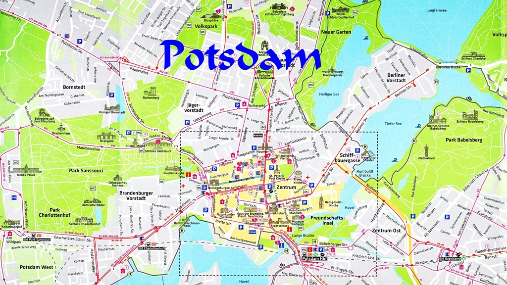 Berlin Potsdam Karte.Potsdam Und Berlin Natur Und Kultur Pur Wolfgang S Space
