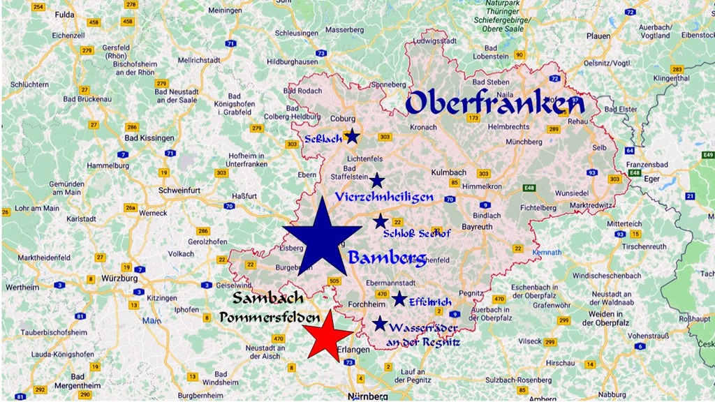 Oberfranken Karte.Oberfranken Ist Schön Wolfgang S Space